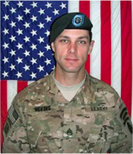 A former Owen J. Roberts student, SFC Nevins was KIA in Afghanistan 21 Sept 13. He was a member of the 19th Special Forces Gp (Green Berets)