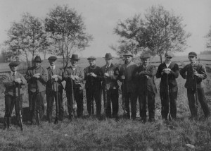 West Chester Gun Club Grounds Near 5 points April 1919